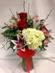Traditional Endless Romance  Vase Arrangement