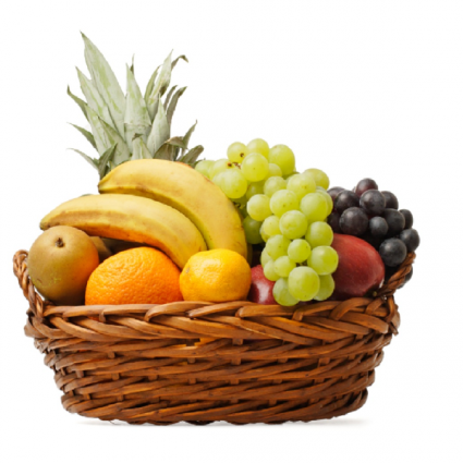 Traditional Fruit Basket Fruit
