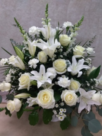 Traditional Roses and Lilies