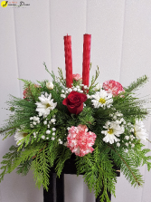 X-Mas-Traditional Table Centerpiece