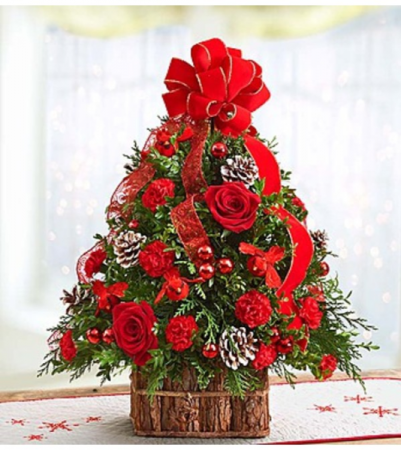 Traditional Tidings™ Christmas Tree Arrangement