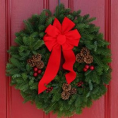 Traditional Wreath made to order your color theme