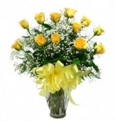 Traditional Yellow Roses  Roses