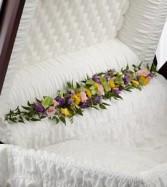 Trail of Flowers Hinge Spray Arrangement