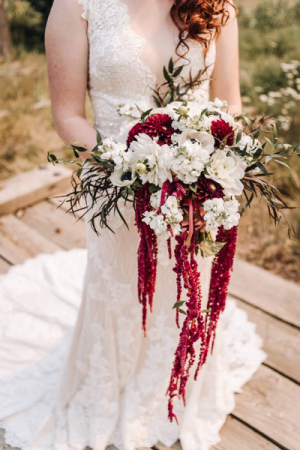 Trailing Earth Handtied Bridal Bouquet