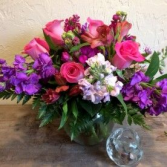 Tranquil bubble bowl Vase arrangement