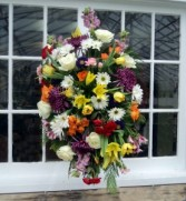Tranquil Garden Spray Funeral arrangement