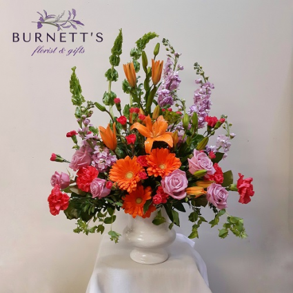 Tranquil Harvest Urn Arrangement