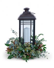 Tranquil Light Flower Arrangement
