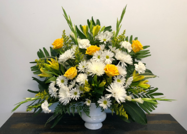 Tranquil Meadow Funeral Urn