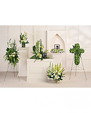 Tranquil Peach Funeral Collection