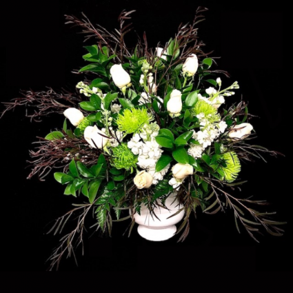 Tranquil White & Green Mix
