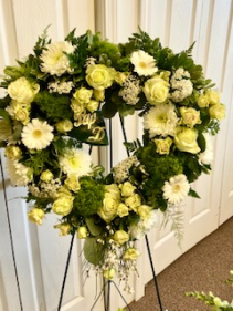 Transcendent Collection Open Heart Wreath Sympathy