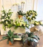 Transcendent Memorial Tributes  Funeral- Grahams Florist exclusive
