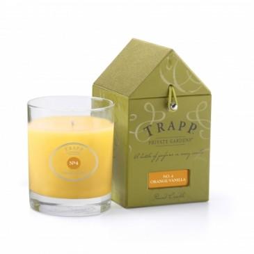 Trapp Candles Orange/Vanilla 5oz. Candle