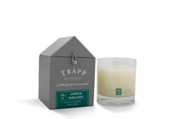 Trapp Signature Candle #21: Amber & Bergamot Candle