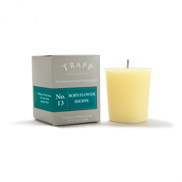 Trapp Votive #13: Bob's Flower Shoppe Candle