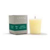 Trapp Votive #21: Amber & Bergamot Candle