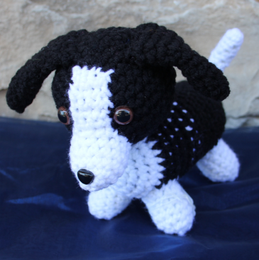Travis the Puppy Grandma's Crochet Plush