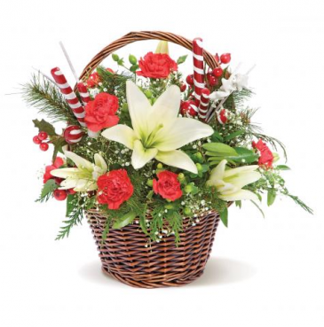 TREASURE BASKET  Christmas Basket