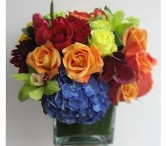 TREASURE CHEST OF BLOOMS Vase Arrangement