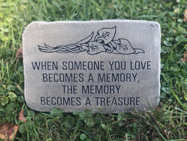 Treasure  Sympathy Keepsake