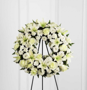 Treasure Tribute Standing Wreath in Las Vegas, NV | Blooming Memory