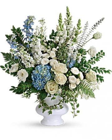 Treasured And Beloved Bouquet Urn