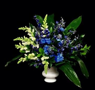Treasured Blue and White Design