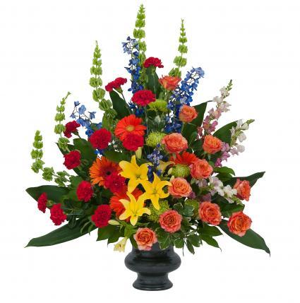 Treasured Celebration Urn Arrangement