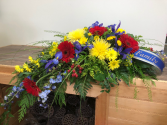 Treasured Forever Casket arrangement