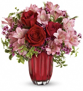 Treasured Hearts Floral Bouquet