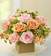 Treasured Love Soft Pastel Blooms in