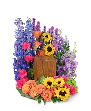 Treasured Memories Surround Sympathy in Nevada, IA | Flower Bed