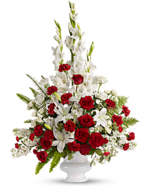 Treasured Memories Vase Arrangement in Sunrise, FL | FLORIST24HRS.COM