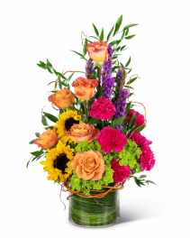 Treasured Memories Vase Sympathy Arrangement