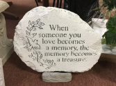 Treasured Memory Memorial Stone