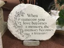 Treasured Memory Memorial Stone