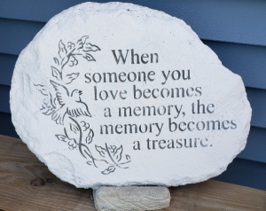 Treasured Memory Sympathy Stone in Port Huron, MI | CHRISTOPHER'S FLOWERS