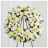 Treasured Tribute Funeral Wreath