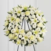 Treasured Tribute wreath arrangement