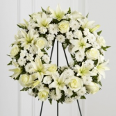 Treasured Tribute Wreath Funeral Flowers