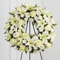 Treasured Tribute Wreath Funeral Flowers
