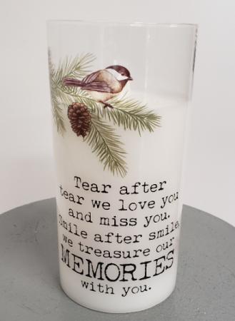 Treasured Memories LED candle