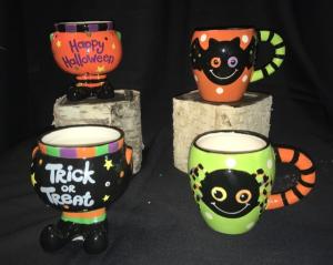 Treat Holder Halloween in Bedford, NH | PJ's Flowers & Weddings