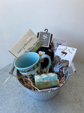 Treat  Your Dad Gift Basket