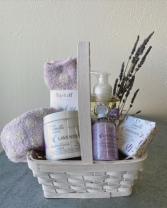 Treat Your Mom Lavender Gift Basket
