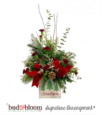 Tree Farm Bud & Bloom Signature Arrangemen