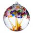 "TREE OF ADVENTURE 6"" HAND BLOWN GLASS BALL"