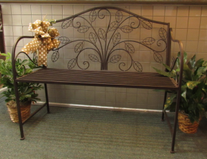 Tree of Life Bench  in Huntingburg, IN | Gehlhausen's Flowers Gifts